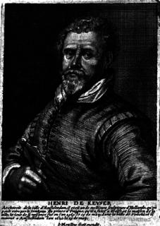 Hendrick de Keyser Dutch architect