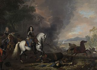 Henry Casimir II, Prince of Nassau-Dietz, in a Battle