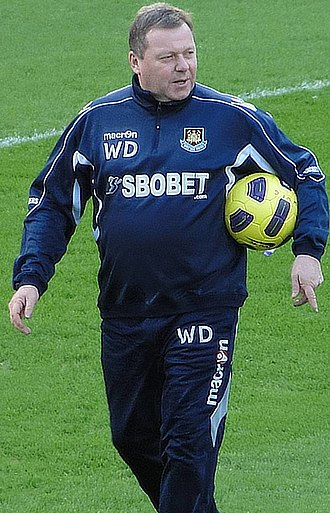 Wally Downes - Downes with West Ham United, January 2011