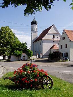 Kirche in Heretsried, Lkr Augsburg