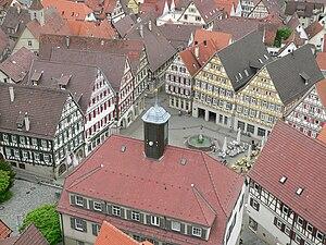 Herrenberg - Image: Herrenberg Marktplatz 1