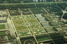 Aerial View Of The Northern Half Of The Great Garden
