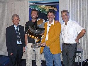 François Bouchet - François Bouchet with Herschel Planck team (second from the right)