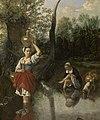 Het wed, Jan Siberechts, 1665, Koninklijk Museum voor Schone Kunsten Antwerpen, 886.jpg