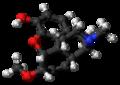 Heterocodeine molecule ball.png