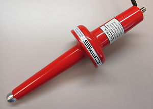 Voltage divider - High voltage resistor divider probe.