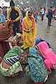 Hindu Devotees Preparing For Ganga Puja - Makar Sankranti Observance - Baje Kadamtala Ghat - Kolkata 2018-01-14 6675.JPG