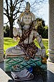 Hindu shrine to Shiva at City of London Cemetery and Crematorium - detail 2018.jpg