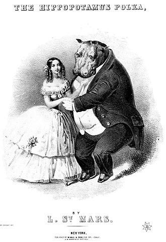 Obaysch - Hippopotamus Polka sheet-music cover