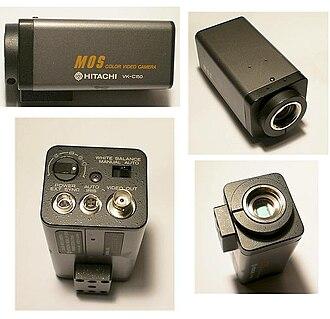 Closed-circuit television camera - Image: Hitachi VKC150
