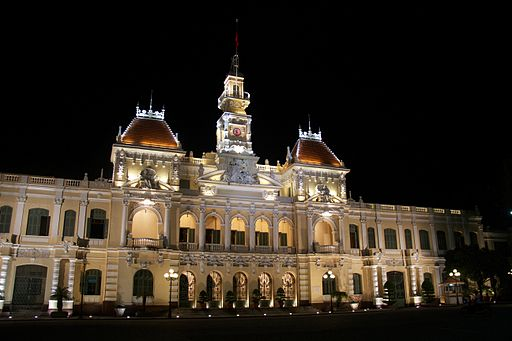 Ho Chi Minh City Hall-List of city and town halls