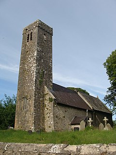 Hodgeston village in Pembrokeshire, Wales