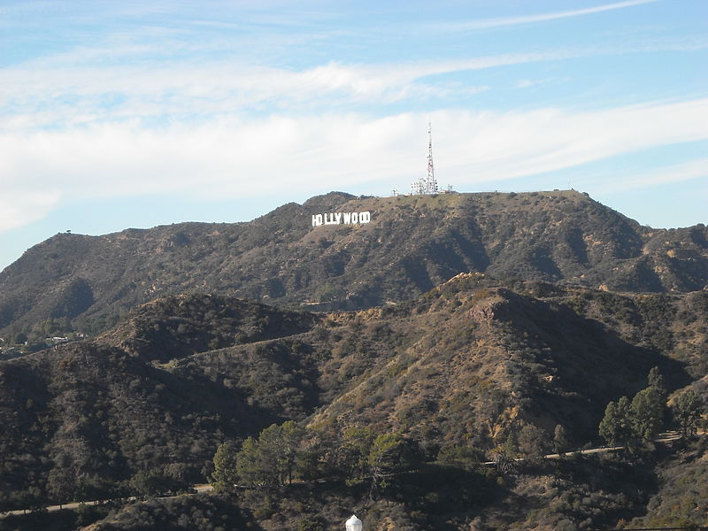 File:Hollywood Sign from Griffith Observatory.jpg