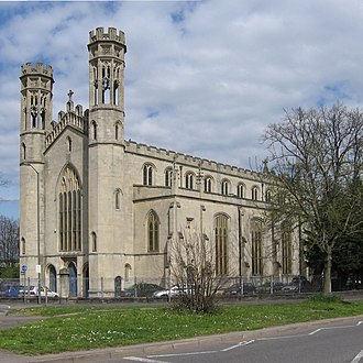 "Thomas Rickman - Holy Trinity, Bristol: one of Rickman's ""Waterloo churches""."
