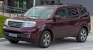 Honda Pilot (second generation) IMG 4032.jpg
