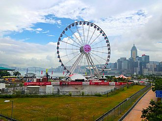 Hong Kong Observation Wheel - Hong Kong Observation Wheel in September 2018