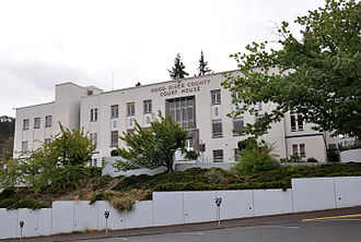 Hood River County, Oregon - Image: Hood River County Courthouse