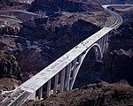 Hoover Dam Bypass Bridge construction 2010-10-12 A.jpg