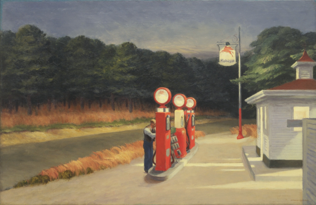 Edward Hopper's American Realist Paintings