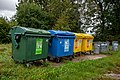 Horní Částkov (Habartov), kontejnery 2020.jpg