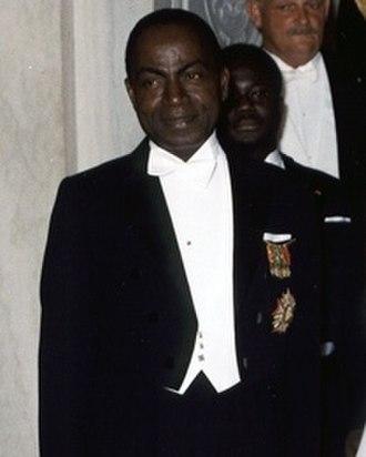 Fulbert Youlou - The Ivoirien Félix Houphouët-Boigny