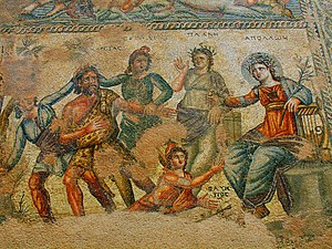 Roman Cyprus - Houses of Dionysos Mosaic, Paphos2