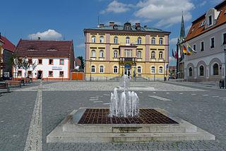 Hrádek nad Nisou Town in Liberec, Czech Republic