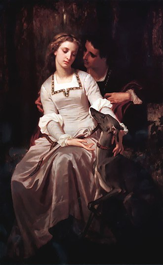 Tristan and Iseult - Tristan and Isolde by Hughes Merle