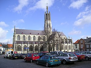 Hulst - Basilica of Hulst in 2006
