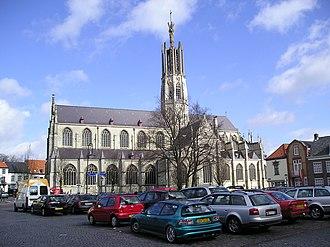 Hulst - Basilica of Hulst in 2006