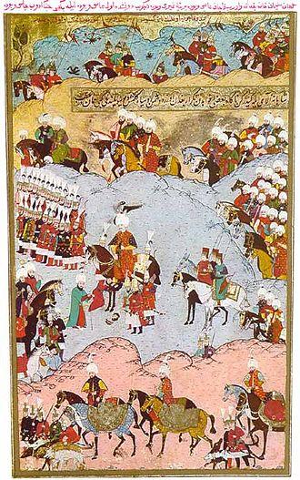 History of Moldova - Sultan Suleiman I taking control of Moldova