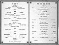 Hunterian Society, anniversary dinner menu-programme. Wellcome L0019426.jpg