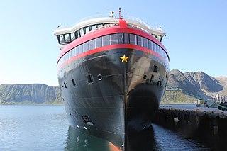 MS <i>Roald Amundsen</i> Norwegian hybrid powered cruise ship