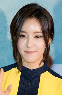 Hyomin at Love Jinx vip premiere, February 2014 02.jpg