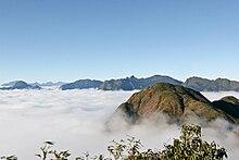 Image of the Hoàng Liên Sơn mountain range