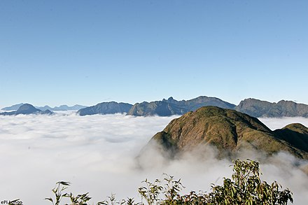 Hoang Lien Son mountain range, a part of the Fansipan which is the highest summit on the Indochinese Peninsula. I'm coming, PXP.jpg
