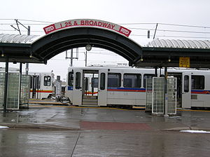 I-25 & Broadway station - Image: I 25 & Broadway Station 04