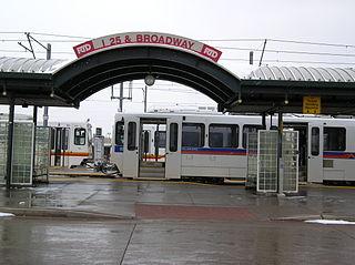 I-25 & Broadway station