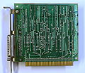 IBM XT 8 bit ISA Parallel card PCB solder side.jpg