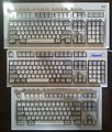 IBM and Unicomp Model M keyboards.jpg