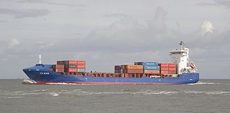 China–Cyprus relations - Cypriot container ship to China