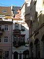 II. Heidelberger Altstadt Blick von der Friedrichstraße in die die Hauptstraße.jpg