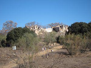 Cortijo - Ruins of an abandoned cortijo in the Archidona municipal term, Málaga Province.