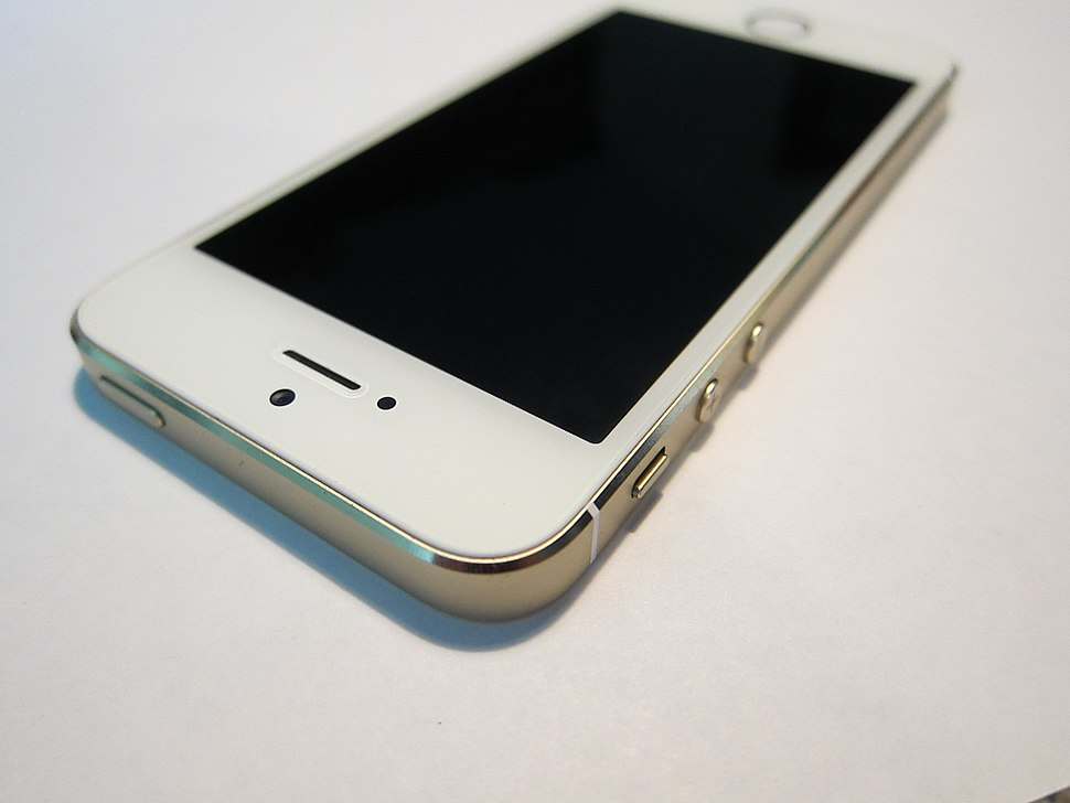 IPhone 5s top