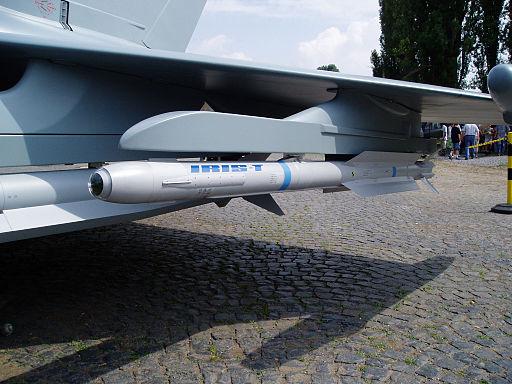IRIS-T air-to-air-missile
