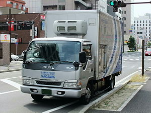 Isuzu HICOM Malaysia - Image: ISUZU ELF 5th generation (Minor Change of 2002.06 model )