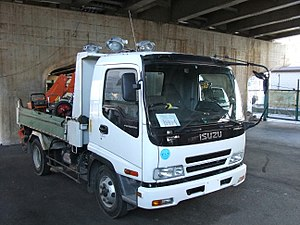 Isuzu HICOM Malaysia - Image: ISUZU FORWARD, Dump Truck, white color