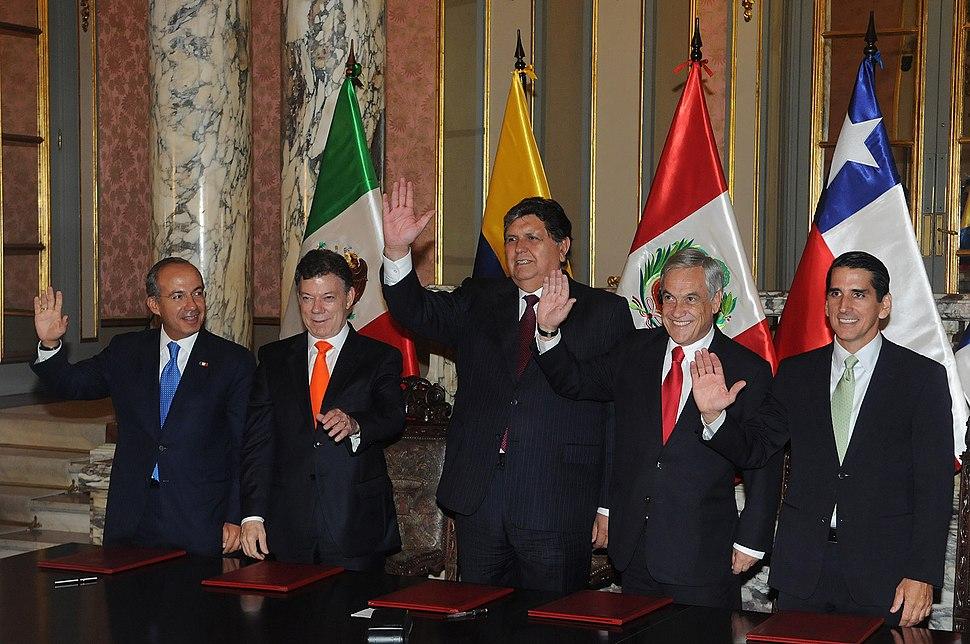 I Cumbre de la Alianza del Pacífico, Lima