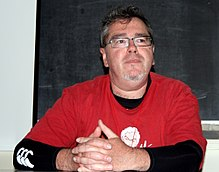 Ian McDonald at SFeraKon 2010 in Zagreb
