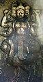 Idol of Brahma at Ekteshwar Temple, Bankura.jpg